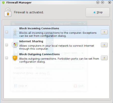 Firewall Manager enabled