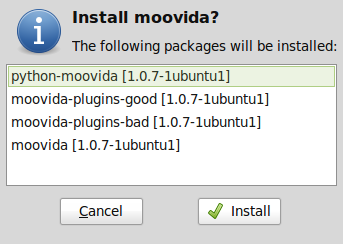 Moovida apps to install