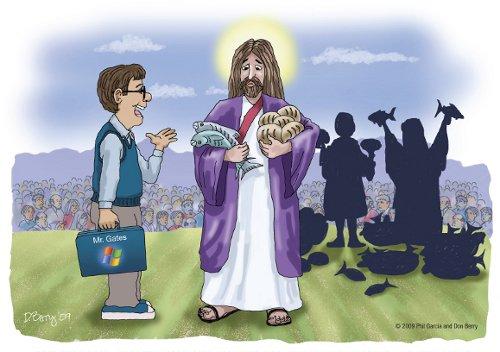 Gates/Jesus