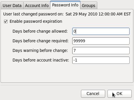 Age password