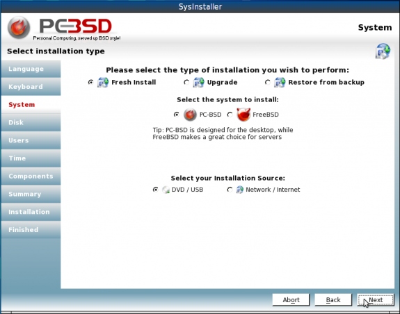 How to install PC-BSD on an encrypted ZFS file system | LinuxBSDos com