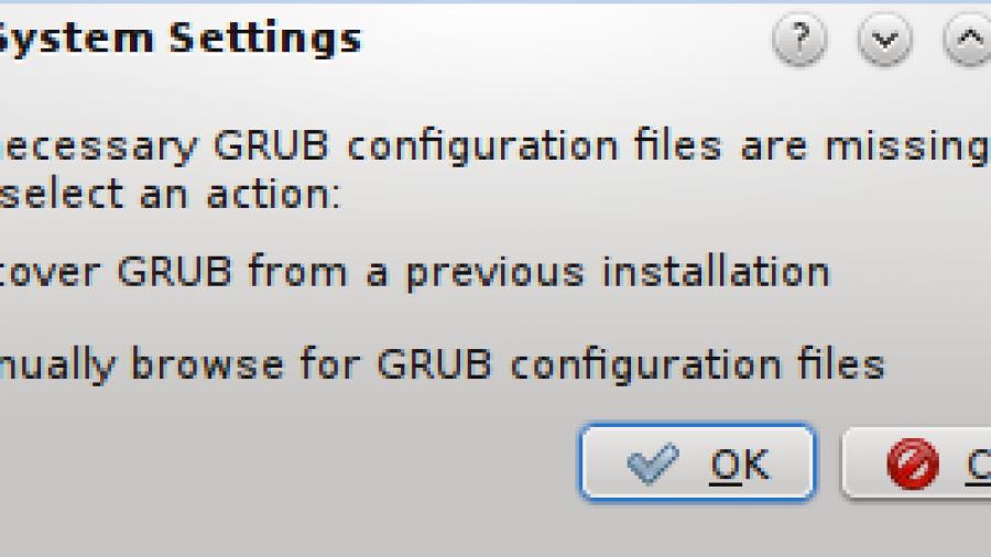 KDE GRUB 2