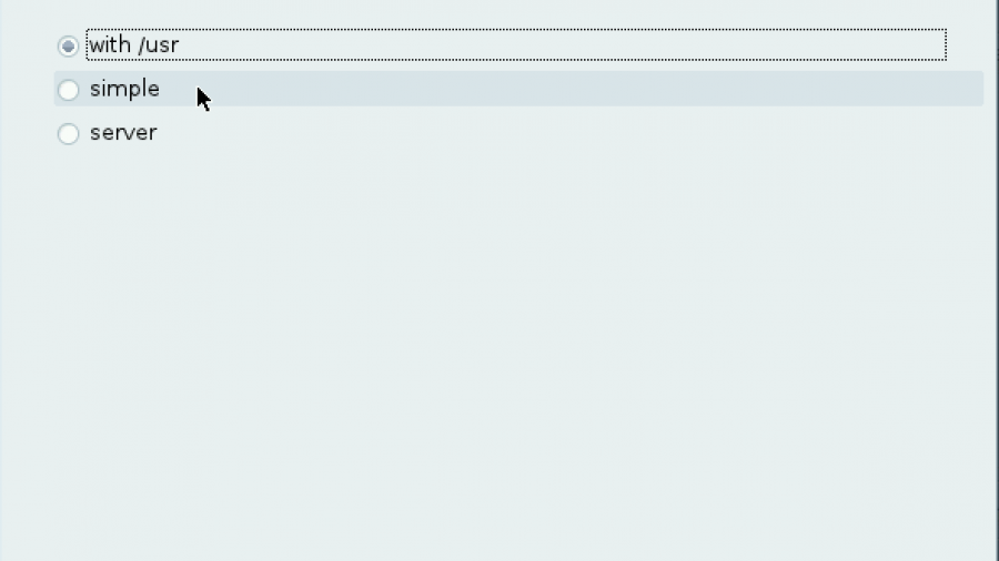 Mageia Auto-allocate LVM options