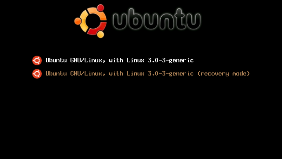 BURG menu in Ubuntu 11.10