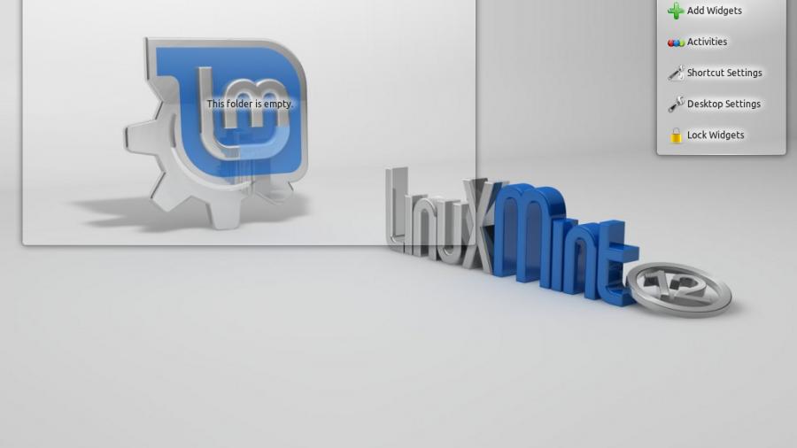 Linux Mint 12 KDE Default Wallpaper