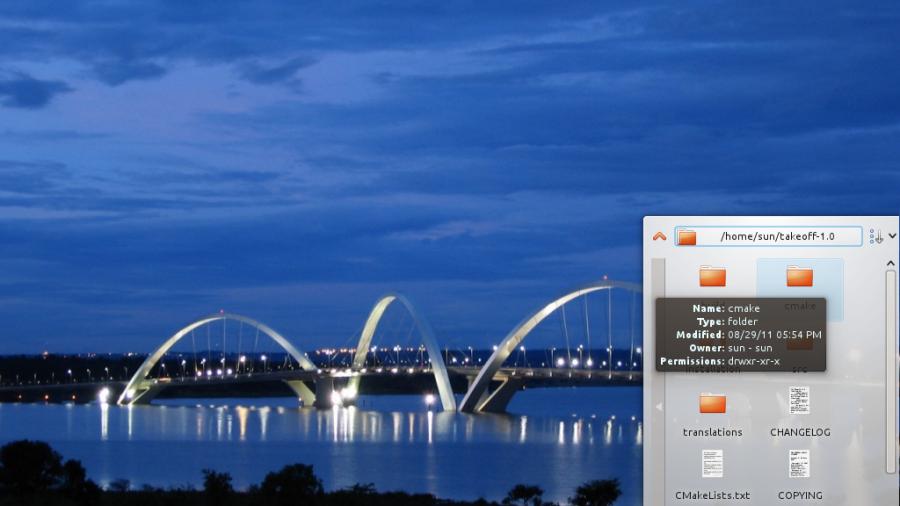 Quick Access Widget Directory Browsing