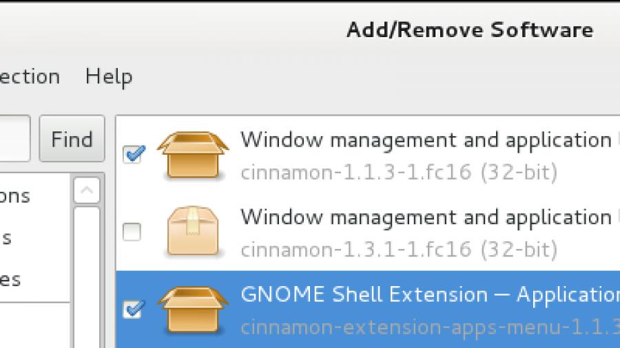 Install Cinnamon 1.3.1 Fedora 16