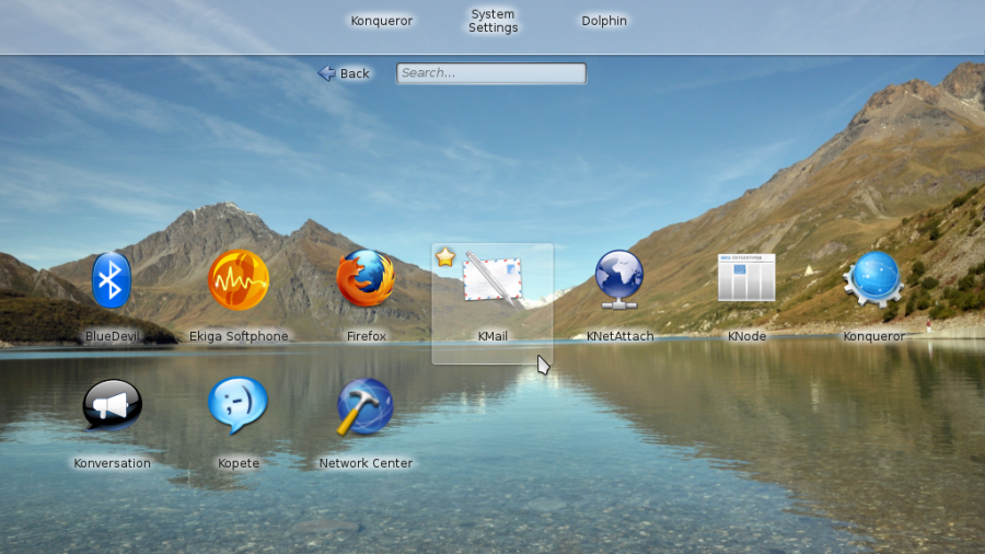 Mageia 2 Plasma Netbook Apps