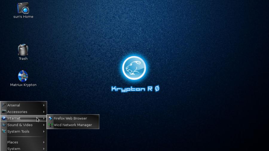 Matrius Krypton 1.2 Internet Apps