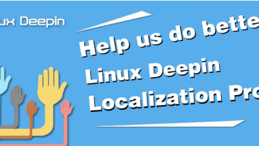Linux Deepin Localization Project i18n l10n