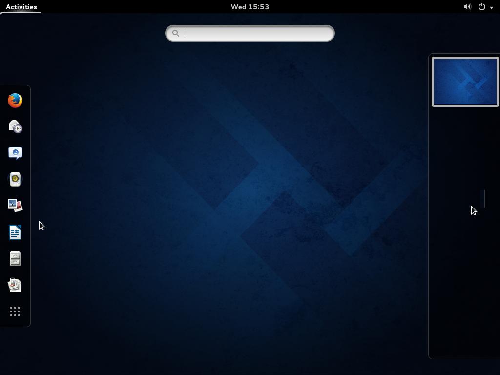 Fedora 20 GNOME 3 GNOME Shell search