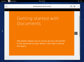 Fedora 20 GNOME Documents