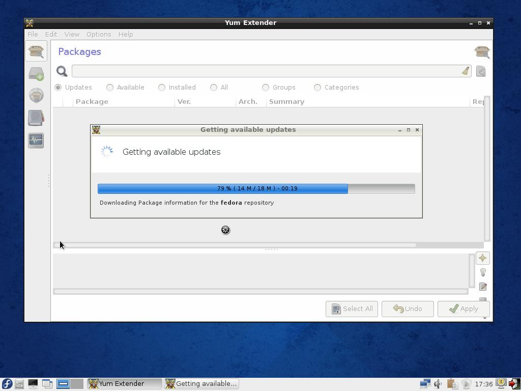 Fedora 20 LXDE Yu