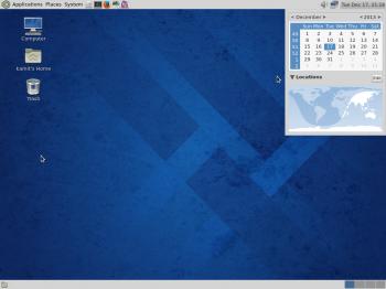 Fedora 20 MATE desktop