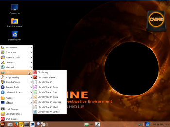 CAINE 5 Desktop