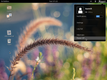 Siduction 2013.2 GNOME 3