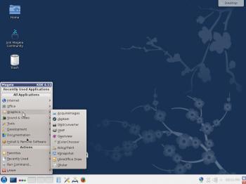 Mageia 4 KDE desktop