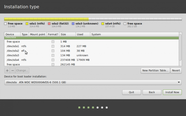 How to dual-boot Linux Mint 17 and Windows 8 on a PC with