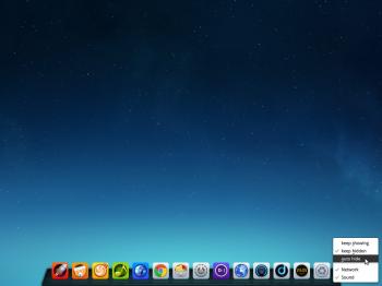 Deepin 2014 desktop
