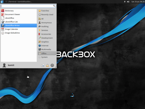 BackBox 4.3 Office suite