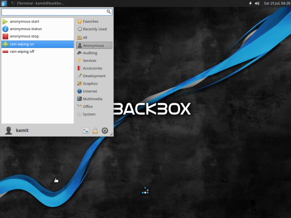 BackBox 4.3 anonymizing