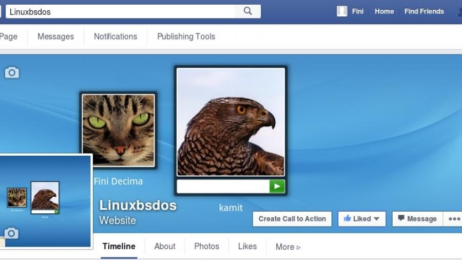 LinuxBSDos.com on Facebook