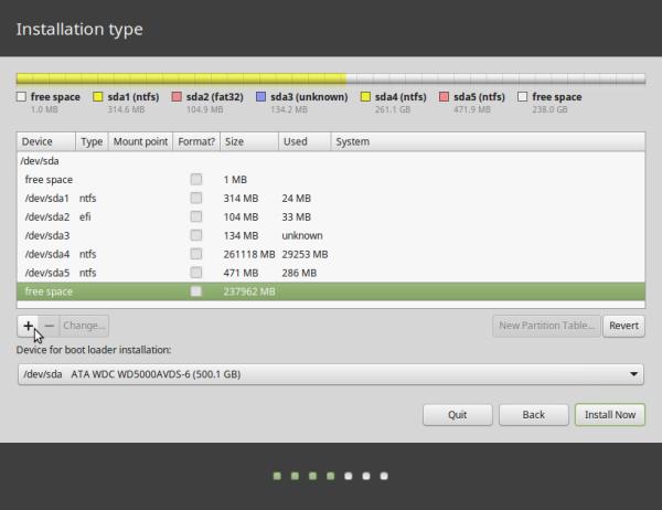 Windows 8/10 partitions