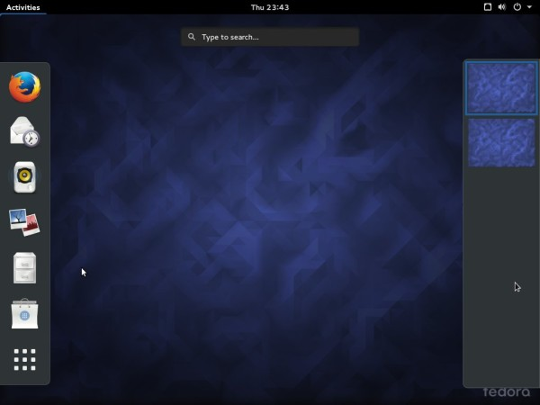 Fedora 23 GNOME