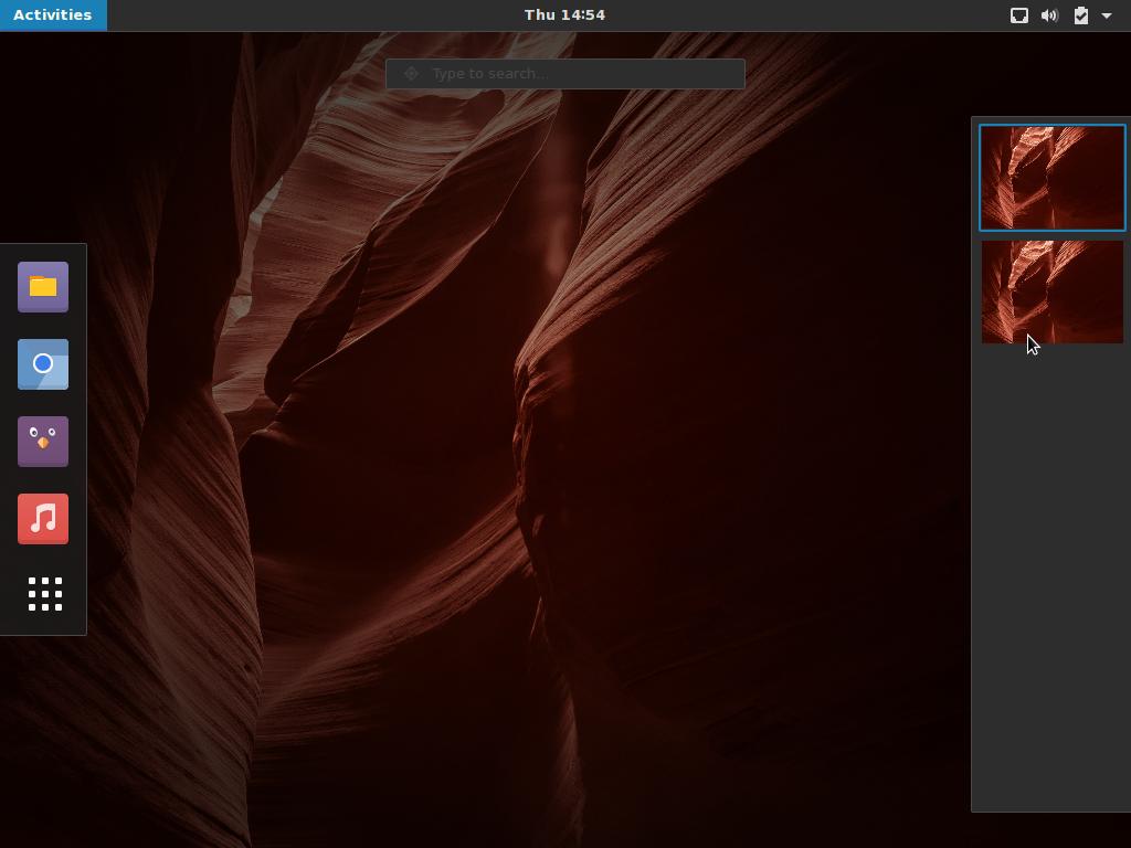 Antergos GNOME 3.16.2