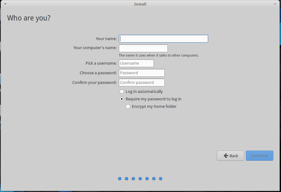 BackBox 4.4 User Account setup