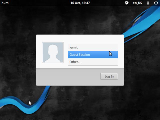 BackBox 4.4 Login window