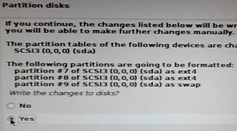 Format disk partitions Kali Linux 2