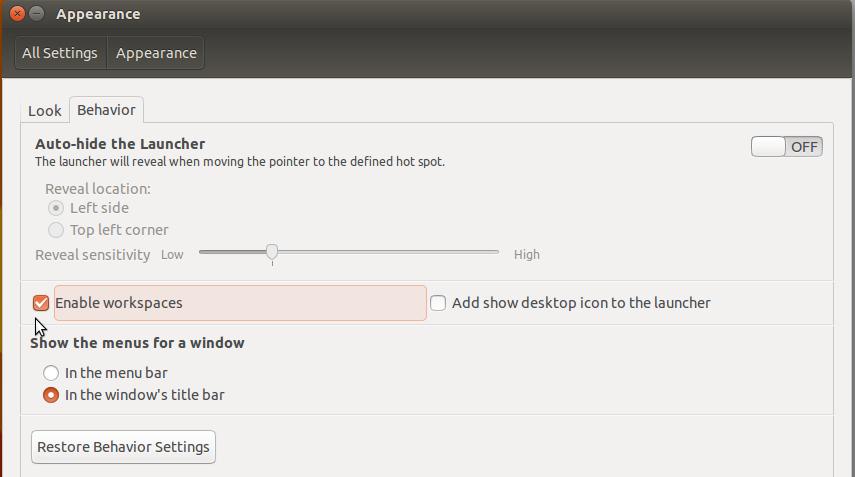 Ubuntu 15.10 Virtual Desktops