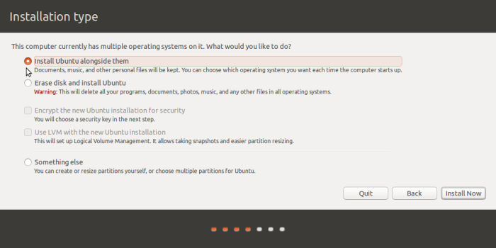 GPT and MBR manual disk partitioning guide for Ubuntu 15.10