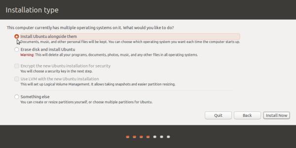 Ubuntu 15.10 partition methods