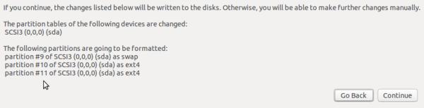 Ubuntu 15.10 format partitions