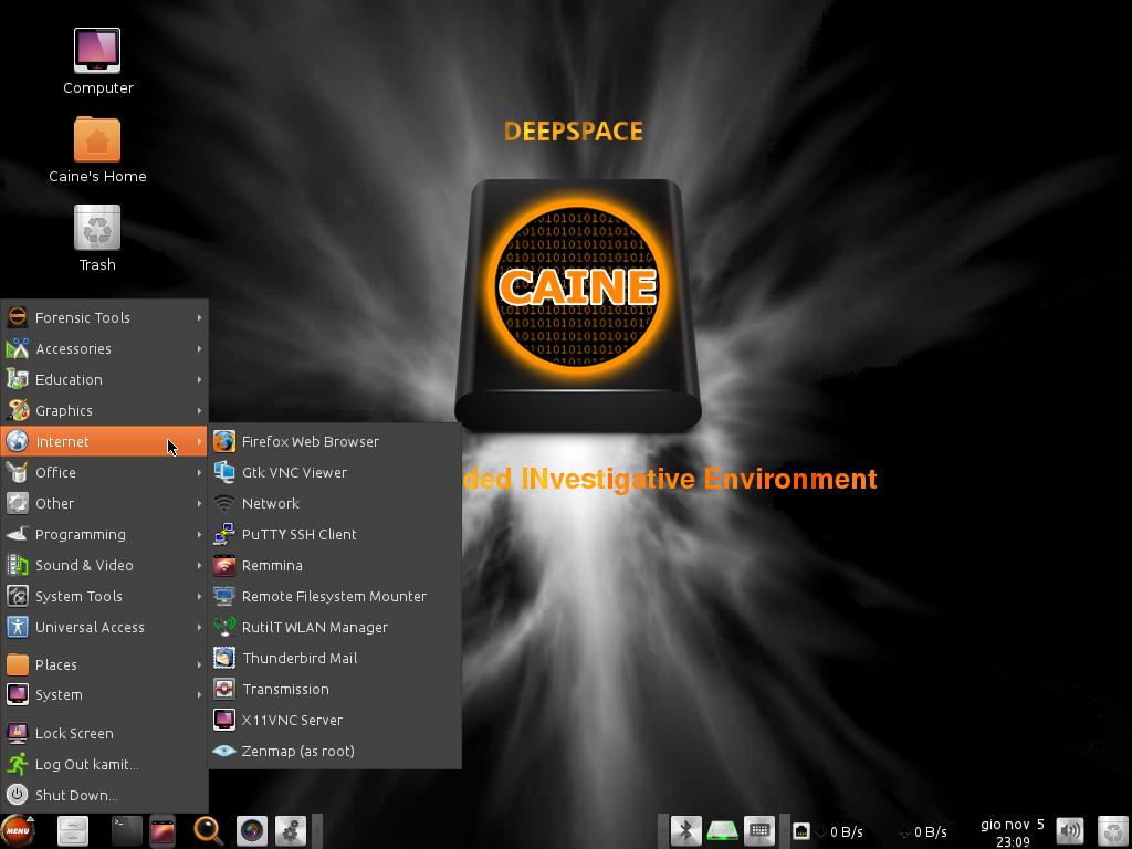 CIANE 7 Internet apps