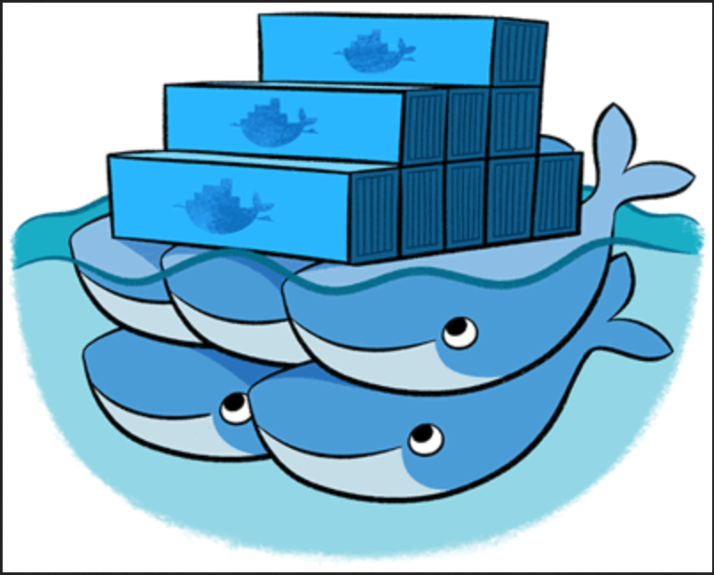 Distributed data analysis with plain UNIX commands and Docker Swarm