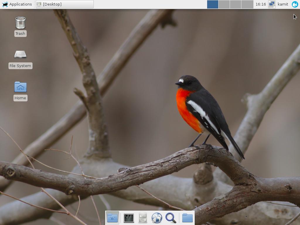 Extra wallpaper on Fedora 23 GNOME