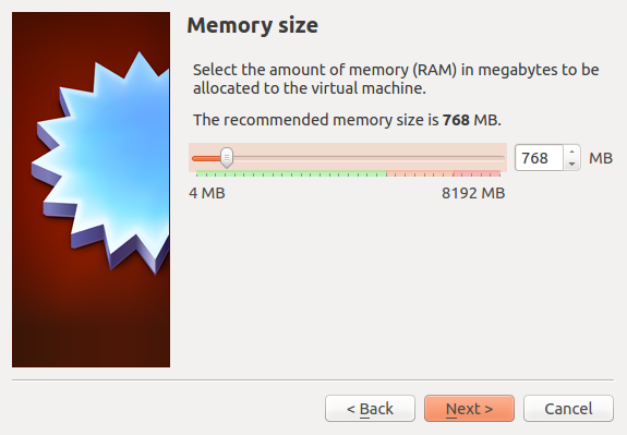Assign RAM to VirtualBox guest OS