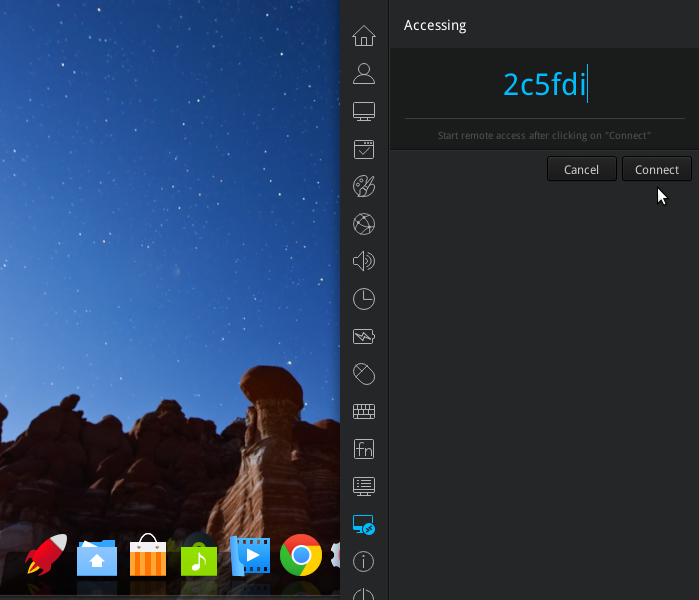 Deepin 15 remore assistance