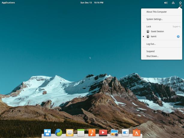 elementary OS Freya 0.3.2 desktop