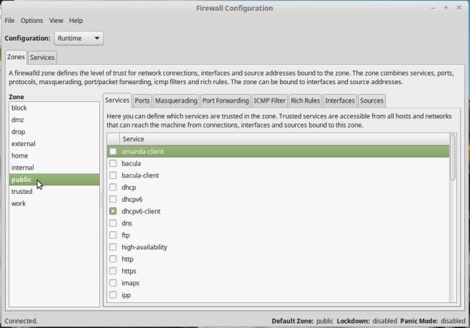 FirewallD Firewall Configuration