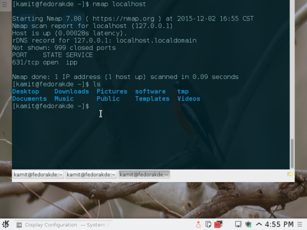 How to install and use Guake Terminal on Fedora 23