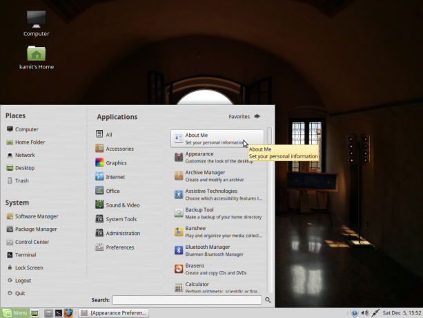 Linux Mint 17.3 MATE
