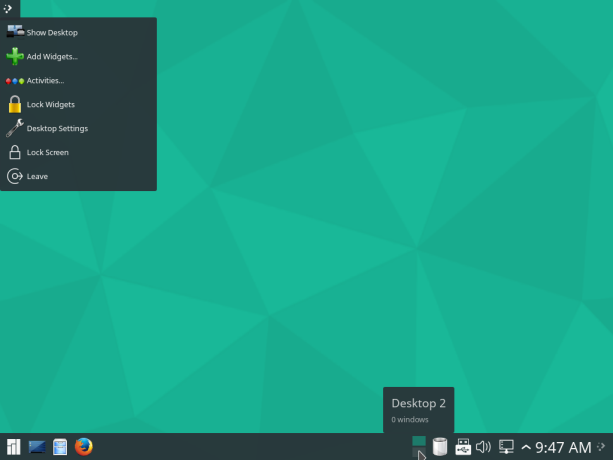 Manjaro Linux 15.12 KDE preview