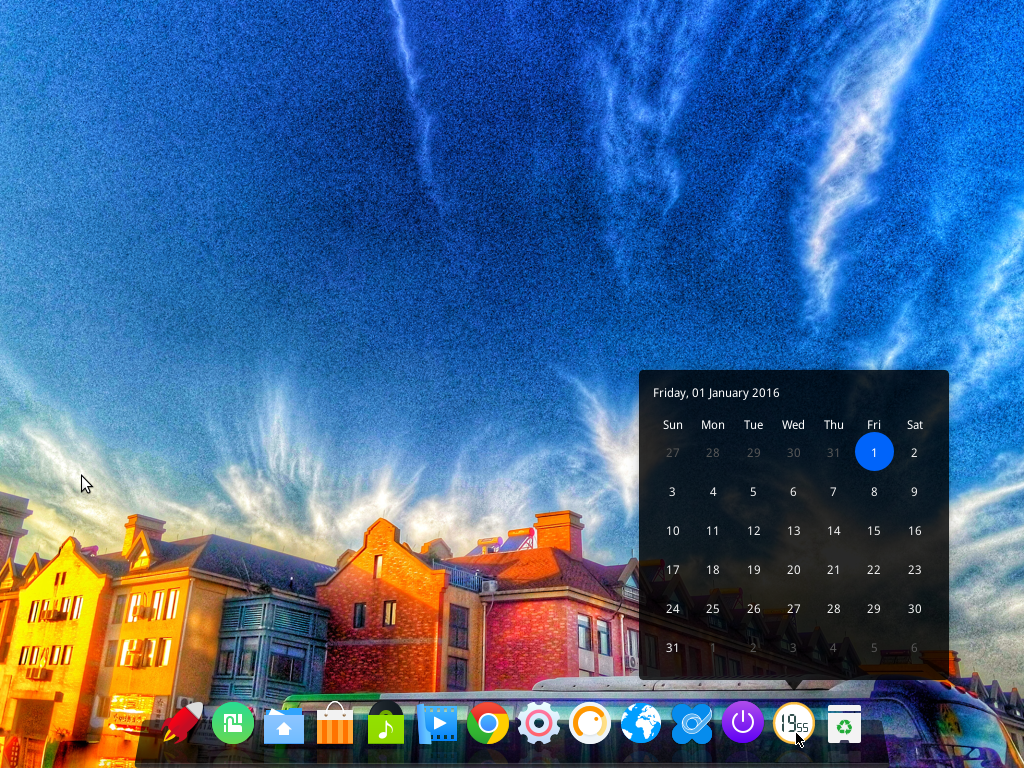 What better way to ring in 2016 than with Deepin 15 on your desktop?