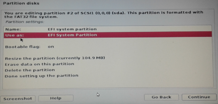 EFI System Partition