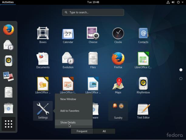 Fedora 25 GNOME 3 applications