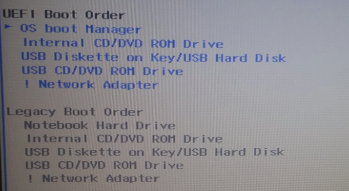 Make GRUB the default Boot Manager on an HP 250 G5
